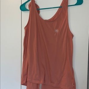 Roxy Button Up Back Tank Top